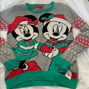 Mickey & Minnie Christmas Sweater